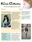 Kawaii Collective Brochure Project by unofficialdear