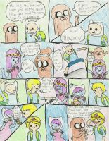 Adventure Time: Finn, Jake, and P.J  -pg 3- by K0MPY