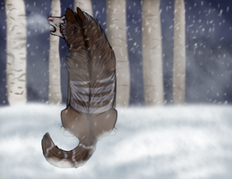 The first snow storm by ChasingDreams4