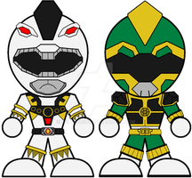 Chibi Titanus and Tor Rangers by Zeltrax987