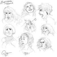 Expression Practice by palnk