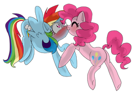 Surprise kiss! by MissPolycysticOvary