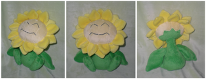 Sunflora plush by Foureyedalien