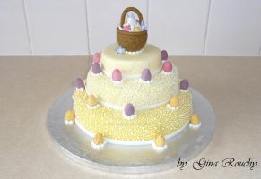Easter Cake by ginas-cakes