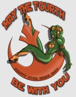 Rebel Forces Star Wars Day by drawnblud