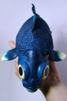 OOAK Little Blue 1 by WithPencilInHand