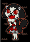 Vampire Puppy - Beatrice by Sageroot