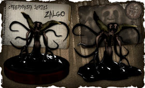 Creepypasta Series 3: Zalgo's Flesh Incarnation by dimelotu