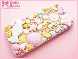 iPhone 5 case -Kawaii Pastel Sweets- by Dolly Hous by SweetDollyHouse
