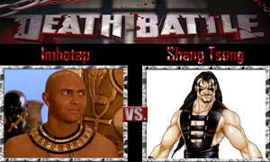 Imhotep vs Shang Tsung by SonicPal