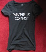 Winter is coming - shirt by Marilynde