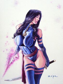 Psylocke by Zepa-Arts