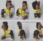 My little Pony Custom Pierre-Emerick Aubameyang by BerryMouse