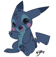 Stitch-chu? by BrandiMuffin