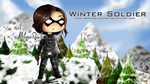 Comission 03 - Winter Soldier by abichobitsmoon