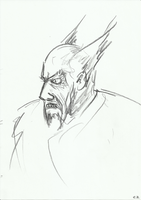 Heihachi by GrinningGhoul