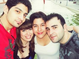 My friends and my love :$ by SaFHina