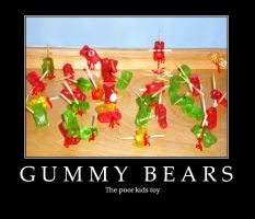 Gummy bears by Xanthius