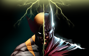 Wolverine vs Batman by JayC79