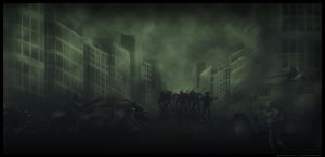 Zombies attack by IgorPosternak