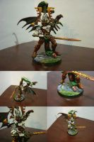 Winged Eldar Avatar Conversion by Asurael-Returns