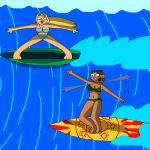 Surfing Lessons by Arias87