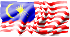 3D Effect on a Malaysian flag by thefreaks