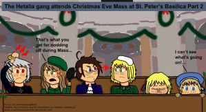 Hetalia Christmas Quickie 2 by VicodinFlavoredMints