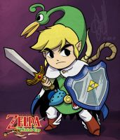 Link and Ezlo by alvinsanity