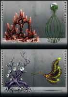 Fantasy Plant Concepts by misi006