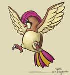 017: Pidgeotto by Mabelma