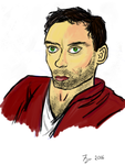 Alex Hassell by RedOctoberRising