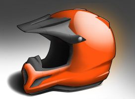 Motocross Helmet by ChoppaDave