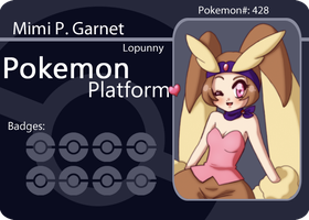 PP :: Lopunny Battle Card by Karmillina