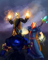 Blood Elves by AlexIKaine