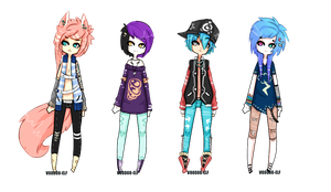 Adoptable Guys   - Taken- by Voodoo-Elf