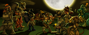 LS-CM, Ain't no party like a Werewolf Party by Toughset
