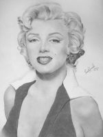 Marilyn Monroe by Thais-Re