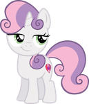 Smug Sweetie Belle by Osipush