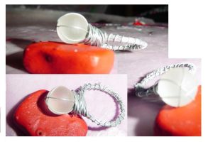 Wire Ring by PleinairBunny