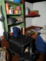Cabin Kitchenette Closeup by kayanah