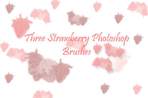 Strawberry Brushes by LilCandi