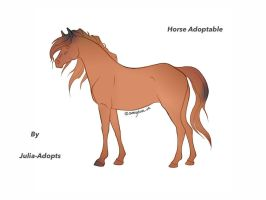 Horse Adoptable by Julia-adopts