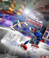 Commission: Sonic vs Metal - Pound for Pound by BroDogz