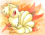 Curiousity of the Ninetails by Eeveelutions95