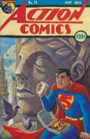 Action Comics #18 Superman Cover by timswit