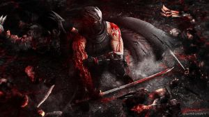 Ninja Gaiden 3 Razor's Edge - Dragon Ninja by TheSyanArt