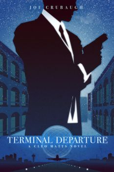 Terminal Departure - A Cleo Matts Novel - Cover by FabledCreative