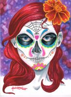 Calavera Girl by NickMockoviak
