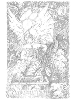 Tarot Series: Strength Pencil by QuestingRaven